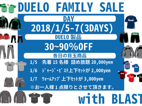 FAMILY SALE!!