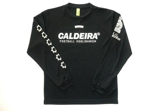 """CALDEIRA/キャルデラ ロングスリーブプラシャツ""""NATIVE SIGNALIZE"""""""