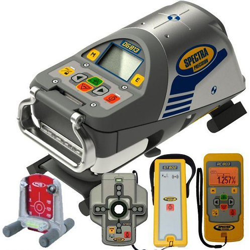 DG813 PIPE LASER w/ RC803, SF803, NIMH BATTERY