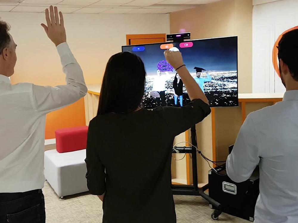 animation borne photo réalité augmentée