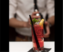 Animation Barman cocktail