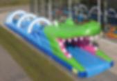 location ventriglisse gonflable, location ventriglisse crocodile, jeu ventriglisse géant