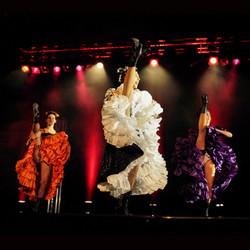 Animation Danseuses Revue Parisienne