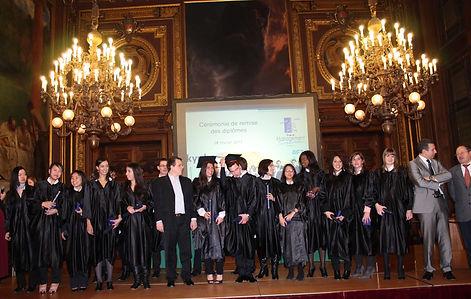 organiser ceremonie remise diplomes paris