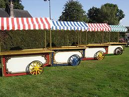 Chariots vintage soiree, location chariot vintage, chariots vintage culinaires