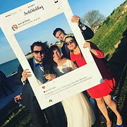 Cadre Selfie photobooth, cadre selfie carton Instagram