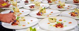 traiteur gastronomique pour repas assis à Paris