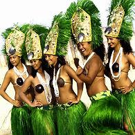 animation danseuses des Îles