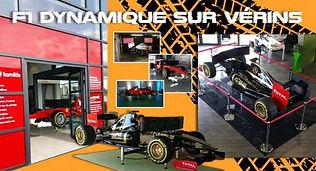 simulateur f1 sur verins