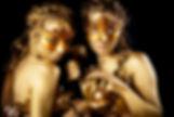 Animation danseuses antiques, animation danseuses filles de venus