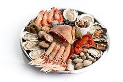 traiteur fruits de mer repas assis paris