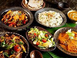 traiteur indien repas assis paris