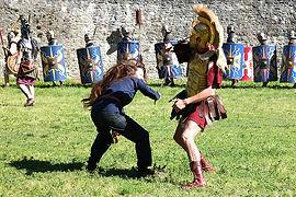 Animation Combat Romains Gaulois