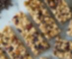 barres de céréales saines