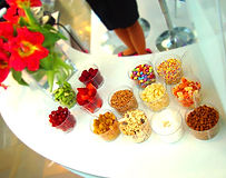 animation bar à frozen yogurt, animation culinaire frozen yogurt, bar à frozen yogurt pour evenement