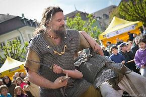 Animation Combat medieval chevaliers