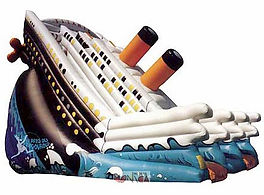 location toboggan titanic gonflable, location toboggan gonflable, toboggan titanic