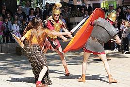 Animation Combat de gladiateurs