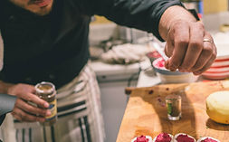 chef à domicile cuisine italienne