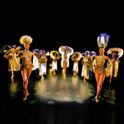 Spectacle Danseuses Revue Parisienne