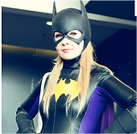 animation cosplay batgirl