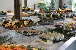 traiteur fruits de mer buffet paris