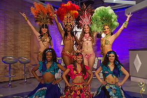 animation danseuses tropicales