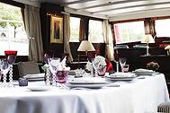 une salle à Paris pour un repas d'affaires