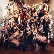 danseuses indiennes, show indien, performers indiens