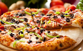Food truck pizza, camion a pizza