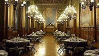 une salle à Paris pour un dîner assis