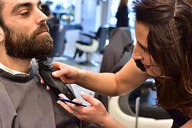 animation barbier paris, animation barber shop corner