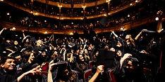 des animations pour une cérémonie de remise de diplômes