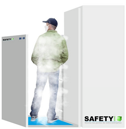 SAFETY DOOR PORTIQUE DE DESINFECTION