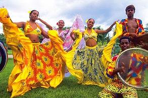 animation danseuses île maurice