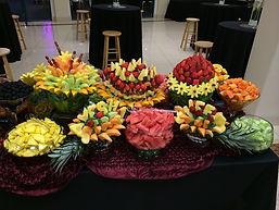 animation fraiche decoupe de fruits