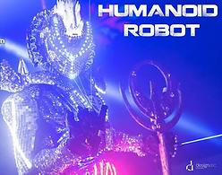 animation robot humanoïd, show robot humanoïd