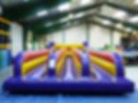 location tir élastique 3 couloirs, location jeu gonflable tir elastique