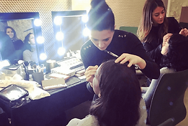 animation bar a maquillage, animation maquilleuses professionnelles