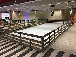 location patinoire synthétique mobile  pour soiree et evenement