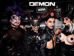 animation démons, show démons, acteurs démons