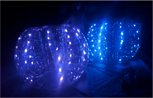 Bubble Soccer Lumineuses