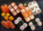 traiteur événementiel japonais repas assis paris