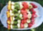 traiteur dessert fruis frai paris