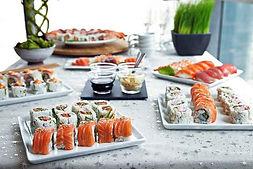 traiteur événementiel japonais buffet paris