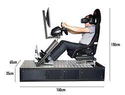 simulateur conduite réalité virtuelle, simulateur conduite sur circuit occulus rift