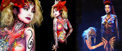 Animation Body Painting