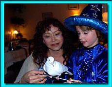 animation magicienne pour enfants