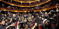 une salle à Paris pour une cérémonie de remise de diplômes