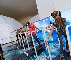 simulateur surf réalité virtuelle